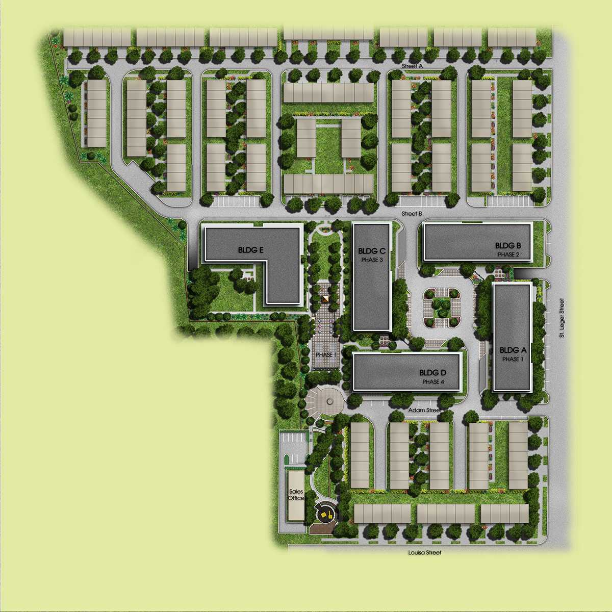 Victoria Common CondominiumsSiteplan_Final